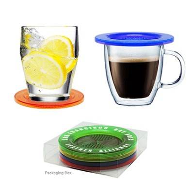 Crystal Drink Coaster 4 in 1