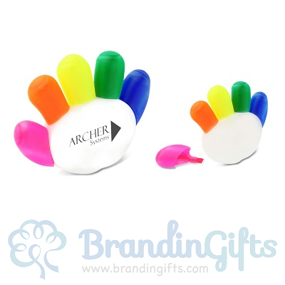 Hand Hand Highlighter Set