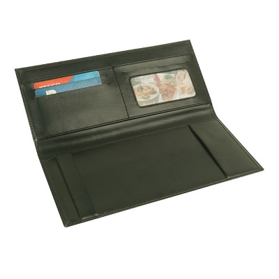 PU Leather Cheque Book Cover