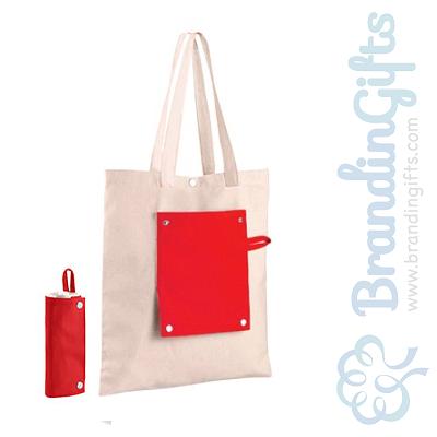 foldable canvas reusable bag brandingifts sdn bhd