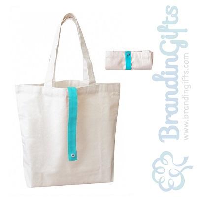 Strap Foldable Reusable Canvas Bag
