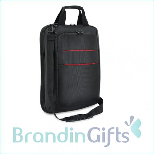 Leather Cloth Document Laptop Sling Bag