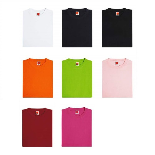 Round Neck Cotton T-Shirt (Female)