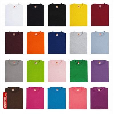 Round Neck Cotton T-Shirt (Unisex)