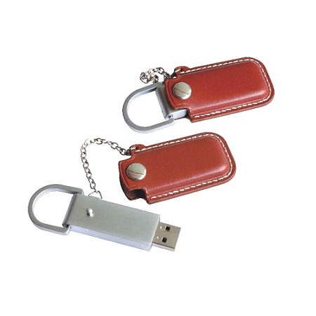 Chain Leather Flash Drive