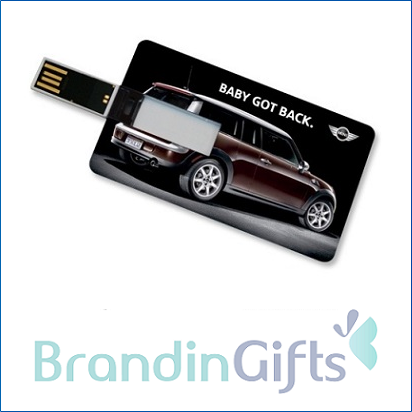 Card Credit Card Shaped Flash Drive