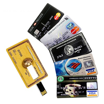 Card Credit Card Shaped Flash Drive