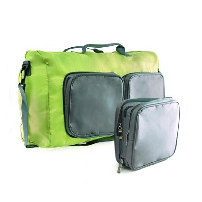 Inspiration Foldable Travel Bag in Square Shape