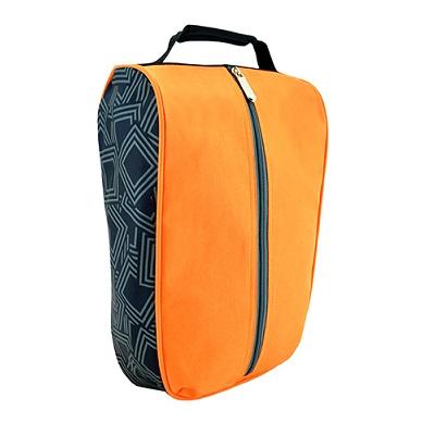 Middle Zipper Shoe Bag (Orange)