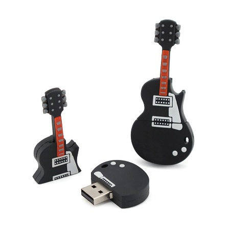 Guitar Shaped Flash Drive
