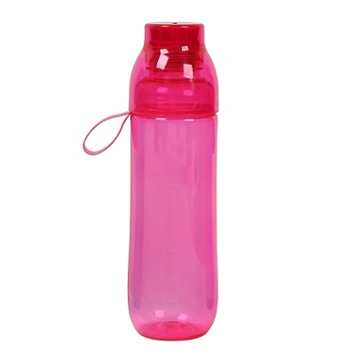 PC Drinking Bottle with Cup 750ml