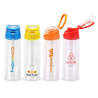 BPA Free Tritan Drink Bottle with Infuser 710ml