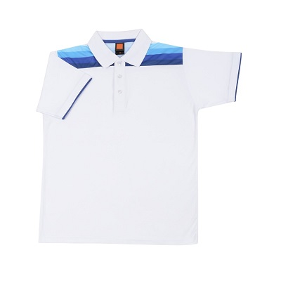 Interlock Cotton Collar T-Shirt with design (Unisex)