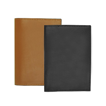 Classic PU Leather Passport Holder