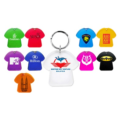 T-Shirt Plastic Keychain