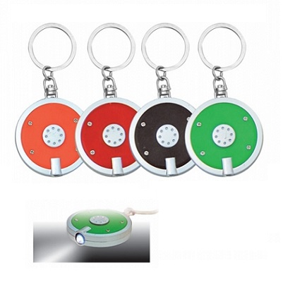 Keyholder with torchlight