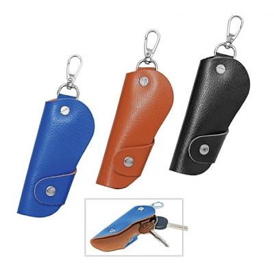TRI PU Leather Keypouch