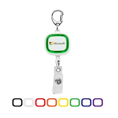 GLOW ID Badge Holder