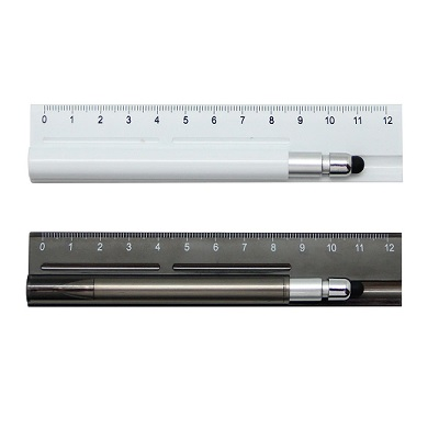 3 in 1 Ruler with Touch Screen Stylus