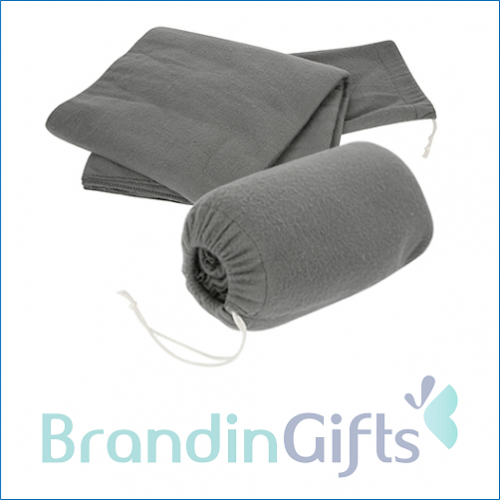 2 in 1 Fleece Blanket Pillow