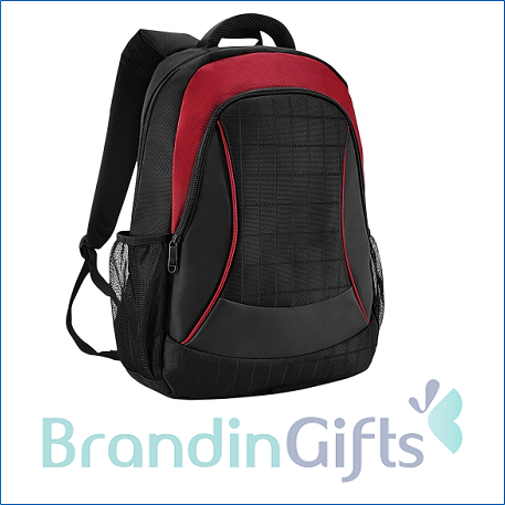 Nut Laptop Backpack (Red)