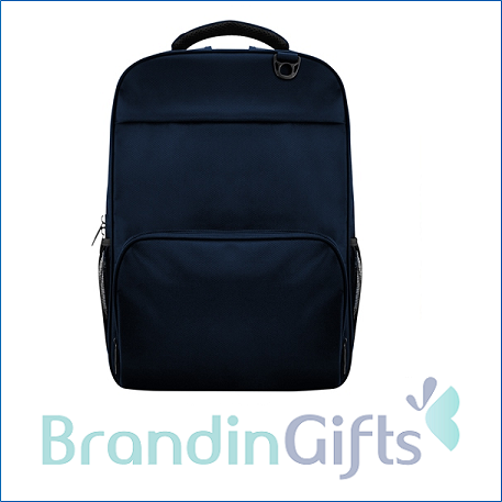 Pox Laptop Backpack (Blue)