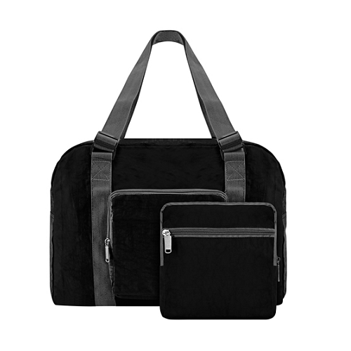 Crinkle Holiday Foldable Luggage Bag