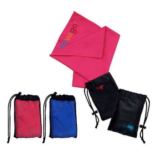 Microfiber Sport Towel with Pouch