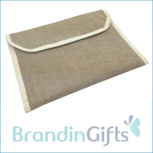Jute Document Holder