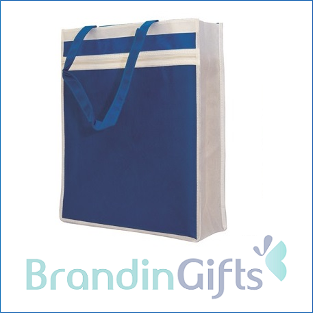 Non Woven with Zipper Pocket Bag