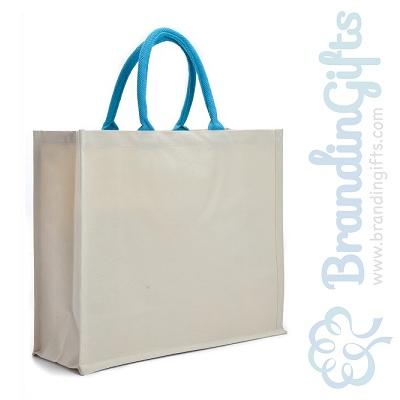 Elegant Laminated Canvas Bag