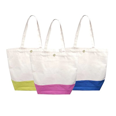 Canvas Color Bottom Bag