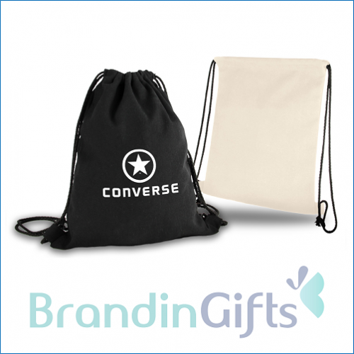 Canvas Drawstring Bag (12oz)