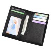 RFID Safe G.Leather Travel ID & Card Wallet