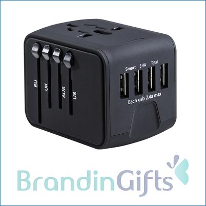 Smart 3.4A Quarter USB Universal Adaptor