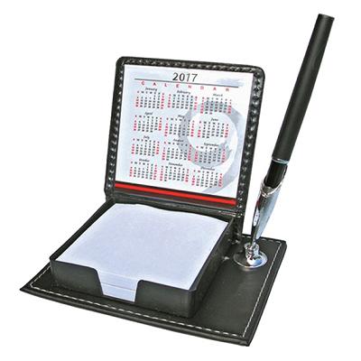 Memo Box With Pen Holder