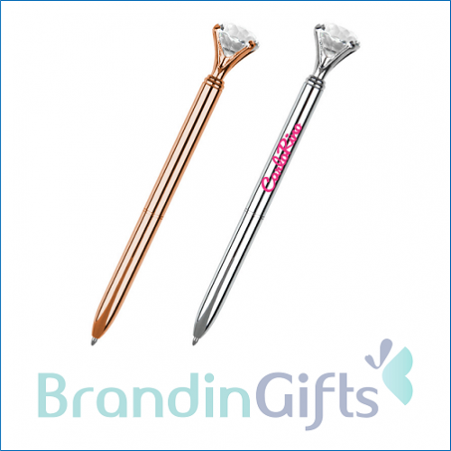 Charm Diamond Metal Ball Pen
