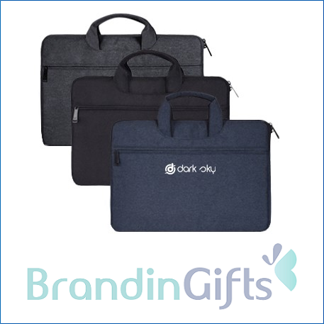 14'' Plush Laptop Briefcase