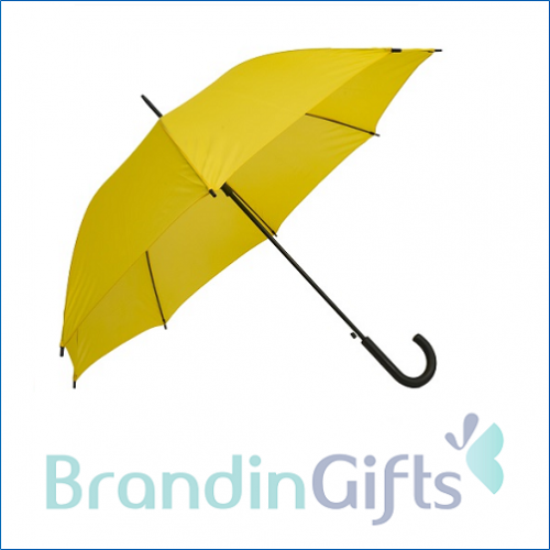 Colourful J Handle Umbrella
