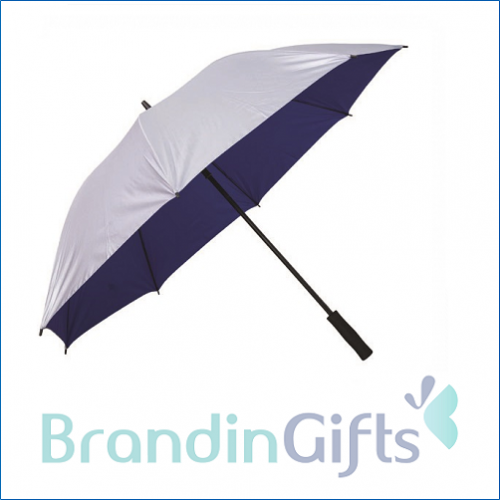"30"" Silver Coated Golf Umbrella"