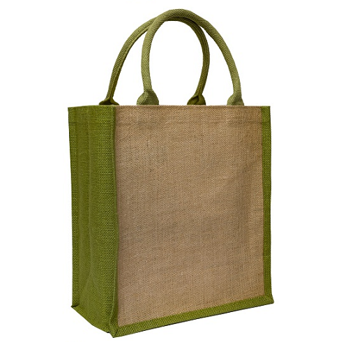 Side Colour Reusable Tote Bag A4