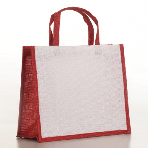 February Colour Jute Bag