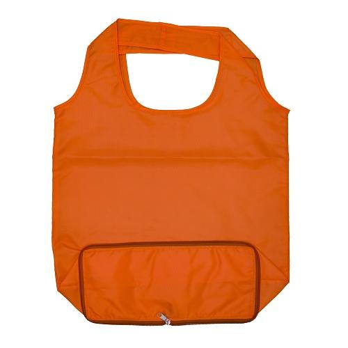 Foldable Zipper Tote Bag
