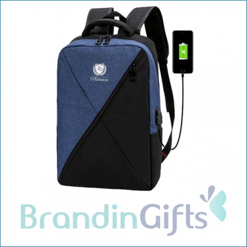 """15.6"""" CROSS Laptop Backpack with USB Port"""
