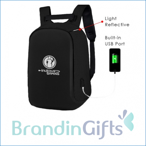 """14"""" Anti-theft Laptop Backpack With USB Port"""