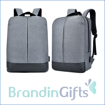 """15.6"""" VIO Laptop Backpack with USB Port"""