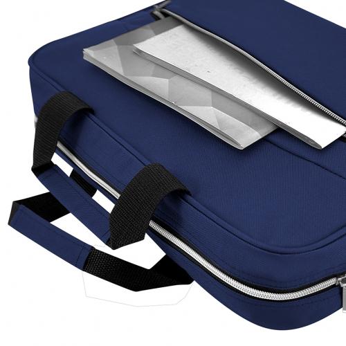 Strap ll Line Document Laptop Sling Bag (Blue)