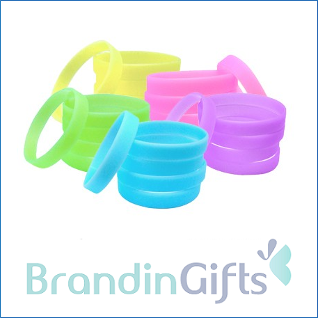 Premium Glow in Dark Silicone Wristband