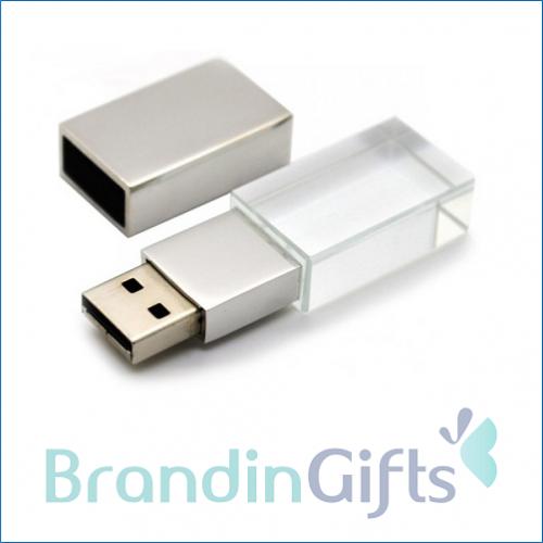 Business Crystal USB Flash Drive