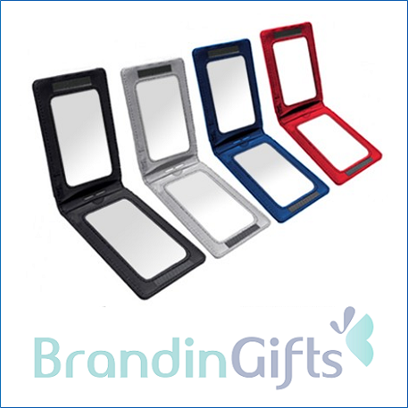 Two Way PU ID Holder With Velcro